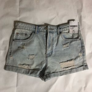 NWT Forever 21 jean shorts